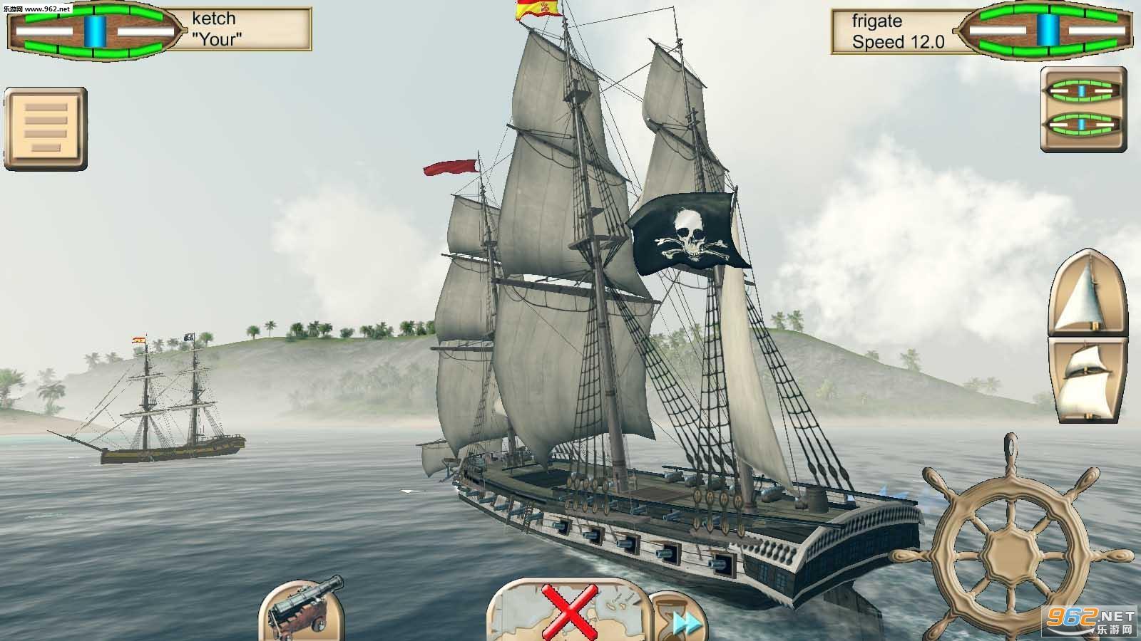 海盗:加勒比海亨特中文版v2.6_截图1