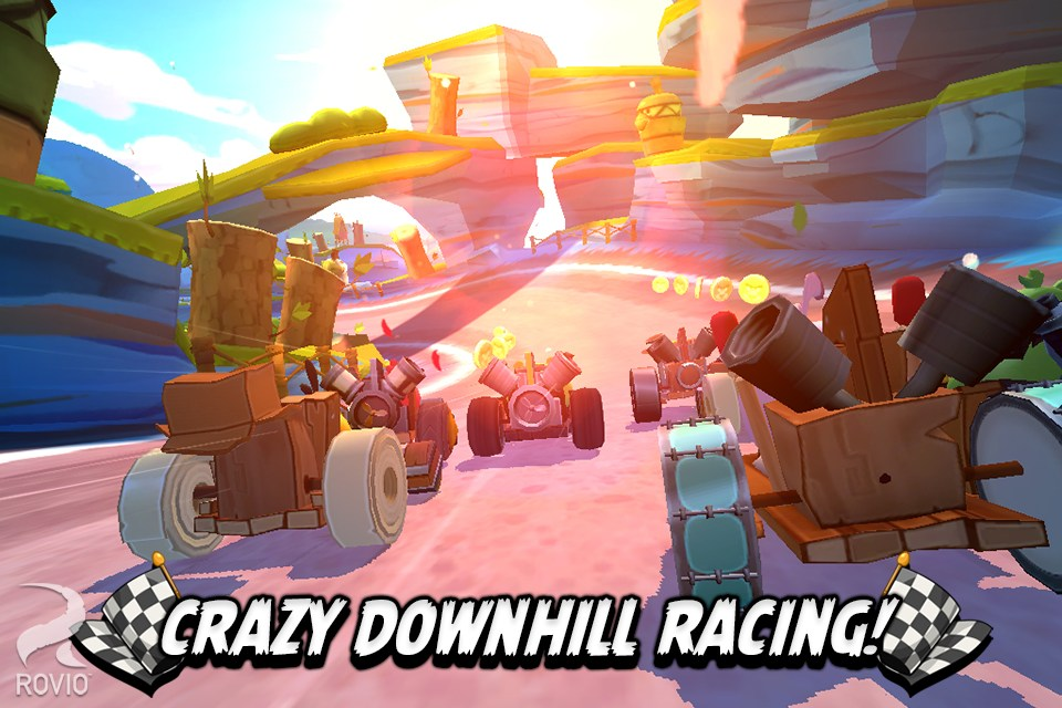 愤怒的小鸟卡丁车 Angry Birds Go!无限金币钻石修改版(新春版)v1.12.0截图2