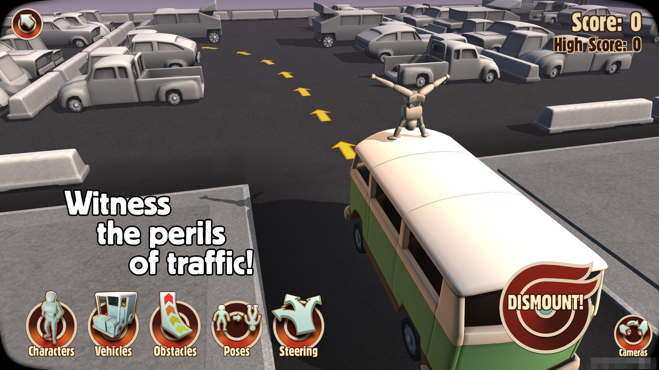 车祸英雄 Turbo Dismount付费内容全解锁版(含数据包)v1.18.0截图1