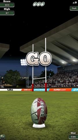 国际橄榄球16 Flick Rugby 16IOS版v1.0_截图