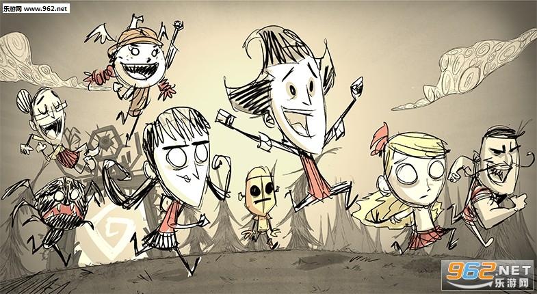 首页 - 游戏库 -  饥荒  饥荒游戏中的人物角色非常丰富,很多角色都是