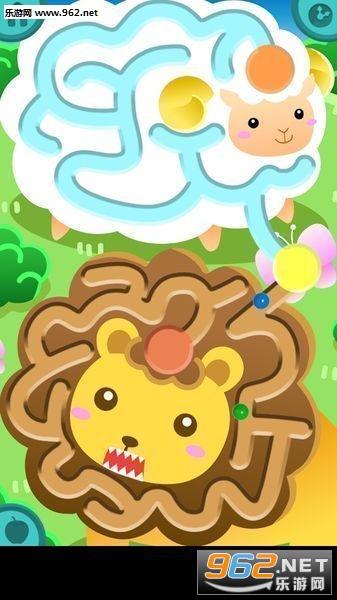 可爱的动物迷宫(儿童闯迷宫)v1.2