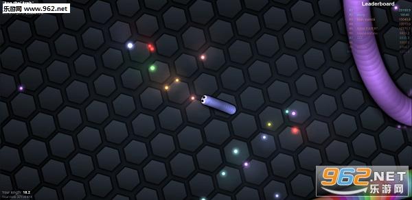 蛇蛇大作战(Slither.io)游戏v1.0截图1