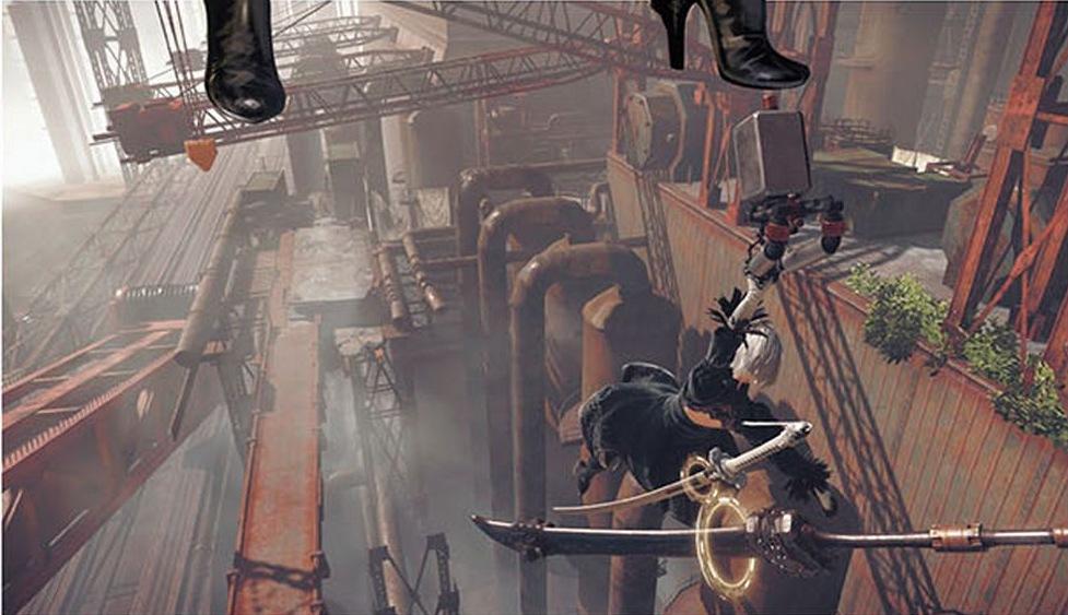 《尼尔:机械纪元》新截图公布 三主角同时亮
