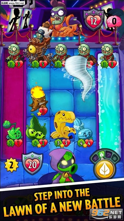 植物大�鸾┦�英雄iosPvZ Heroes 1.0.11_截�D0