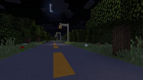 我的世界森林小屋恐怖地图