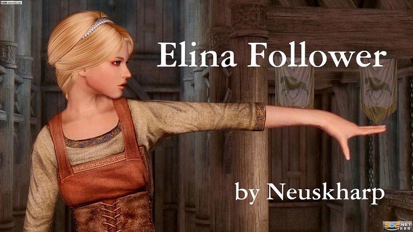 上古卷轴5随从美女mod战士美女艾莉娜》战士目的《的图片