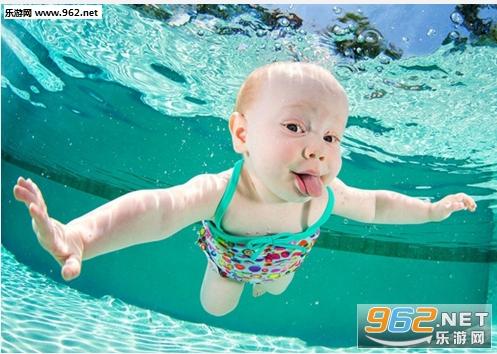超萌可爱水底表情表情进入图片包宝宝后图片