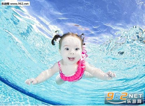 超萌可爱水底宝宝表情包下载