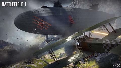 《战地1》巨兽空艇载具公布 行动系统更具挑战性