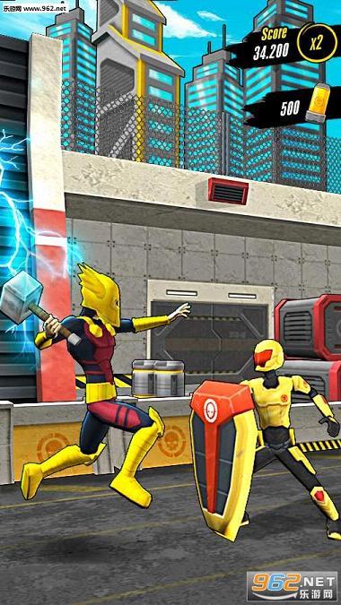 Action Man超级英雄跑酷破解版v1.0.1截图2