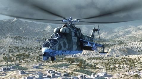空中任务雄鹿直升机修改器+5