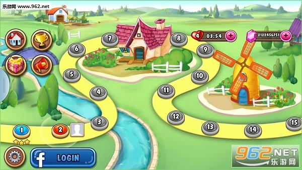 开心农场:糖果节无限宝石金币修改版v2.0截图3