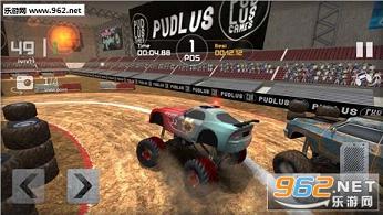 怪兽卡车比赛无限金币破解版v1.0_截图1