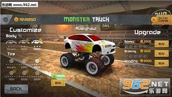 怪兽卡车比赛无限金币破解版v1.0_截图2