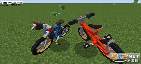 我的世界神奇宝贝自行车MOD