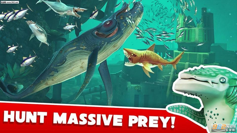 饥饿鲨:世界1.2.0无限金币钻石版_截图0