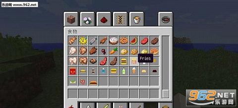 我的世界快餐食物mod1.8.0下载