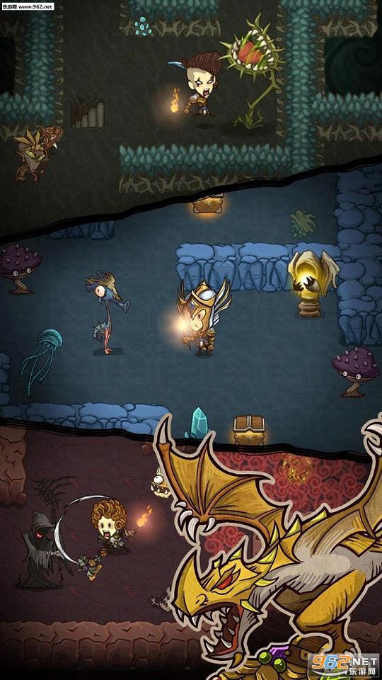 贪婪洞窟1.2.1无限金币钻石梦境试炼版_截图1