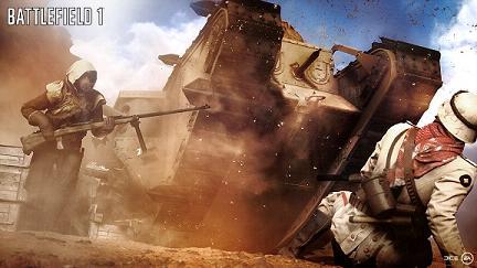 《战地1》10月下旬发售 骑马战到现代化战争