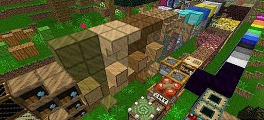 我的世界1.7.10木头的世界材质包