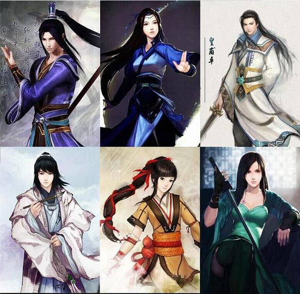 三国志13仙剑5仙剑6仙剑前传人物头像合集