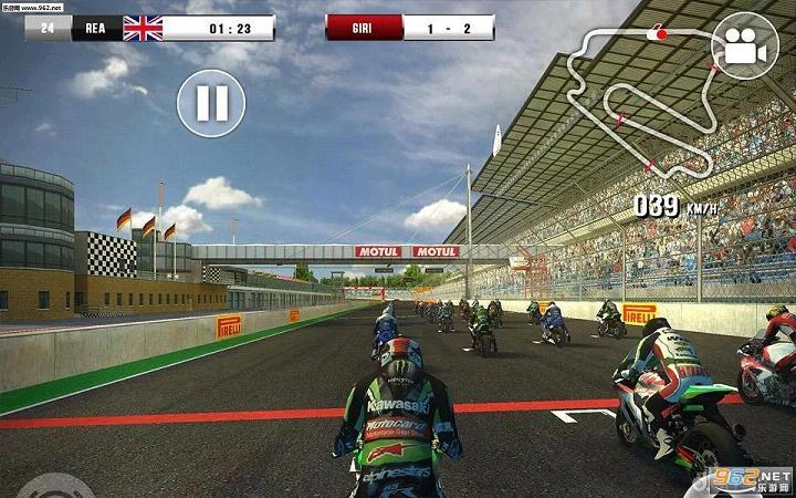 世界超级摩托车锦标赛16免谷歌验证中文版1.0.2截图1