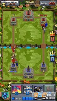 像素皇室战争无限金币钻币版v2.49_截图