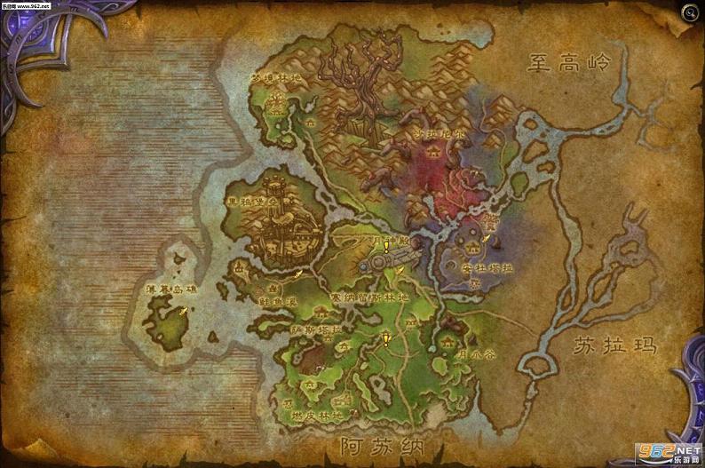 魔兽世界新地图瓦尔莎拉介绍预览