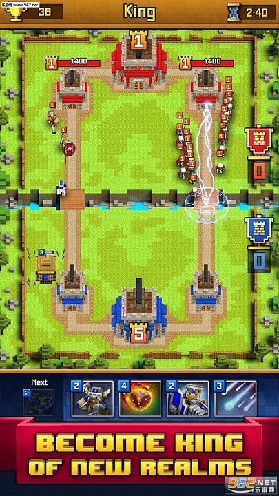 像素皇室战争2.29无限金币钻石版_截图1