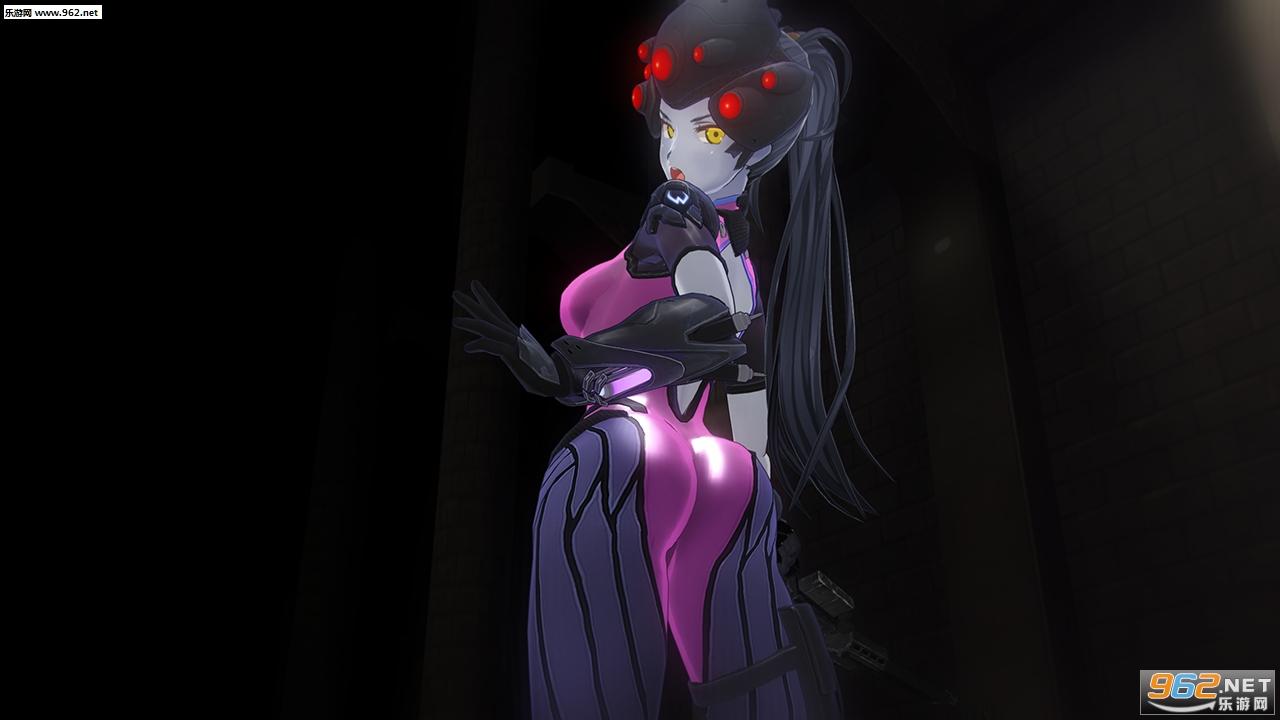 3D定制女仆2守望先锋黑百合mod