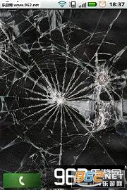 手机碎屏恶搞壁纸 碎屏幕恶搞手机桌面下载 乐游网安卓下载图片