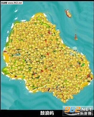 祖国风景点 地图