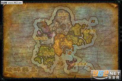 0新地图破碎群岛军需官位置一览