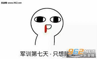 我爱军训表情包|军训表情包下载-乐游网游戏下载图片