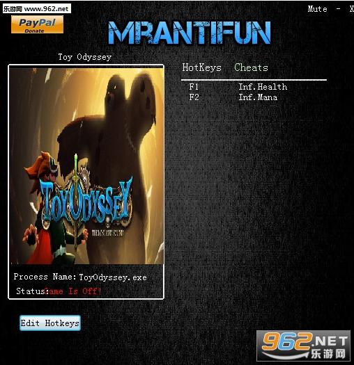 玩具冒险无限生命魔力修改器v1.0