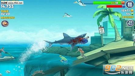 饥饿鲨:进化ios破解版v4.2.2截图2