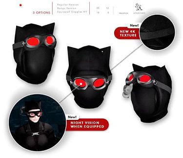 辐射4蝙蝠侠猫女外套MOD