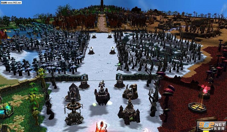 魔兽争霸地图 魔兽世界v1.1正式版截图0
