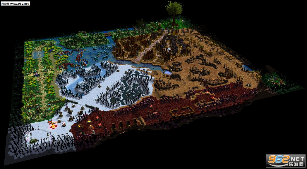 魔兽争霸地图 魔兽世界v1.1正式版截图1