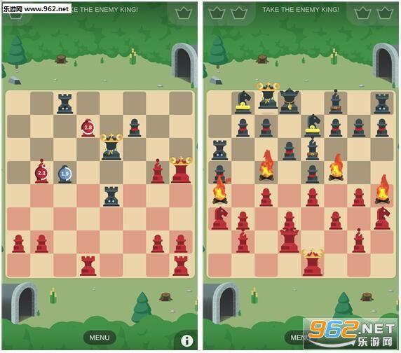 如果你玩过国际象棋,那么每一种棋子的走法我想就不图片