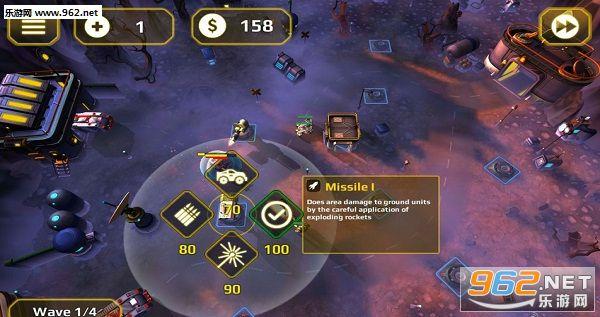 塔防将军无限金币破解版v0.5_截图0