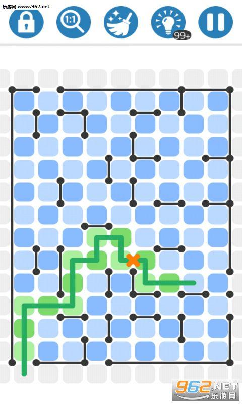 一笔画迷宫拼图破解版v1.0.0_截图0