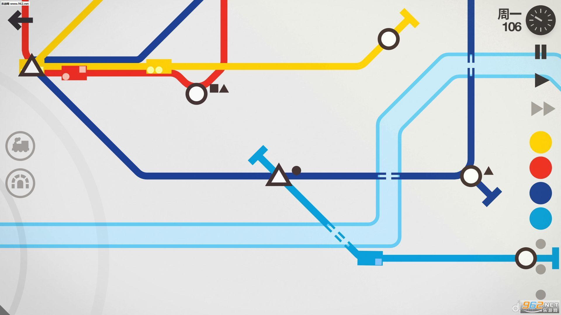 迷你地铁安卓破解版v1.0.11截图1