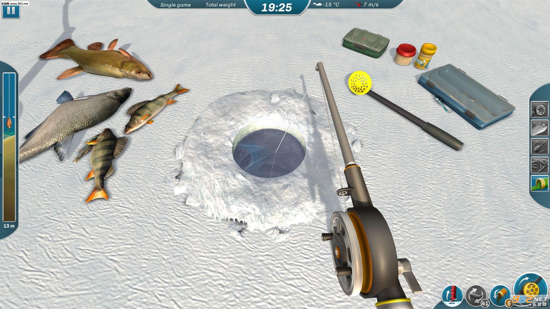 冰湖钓鱼截图1