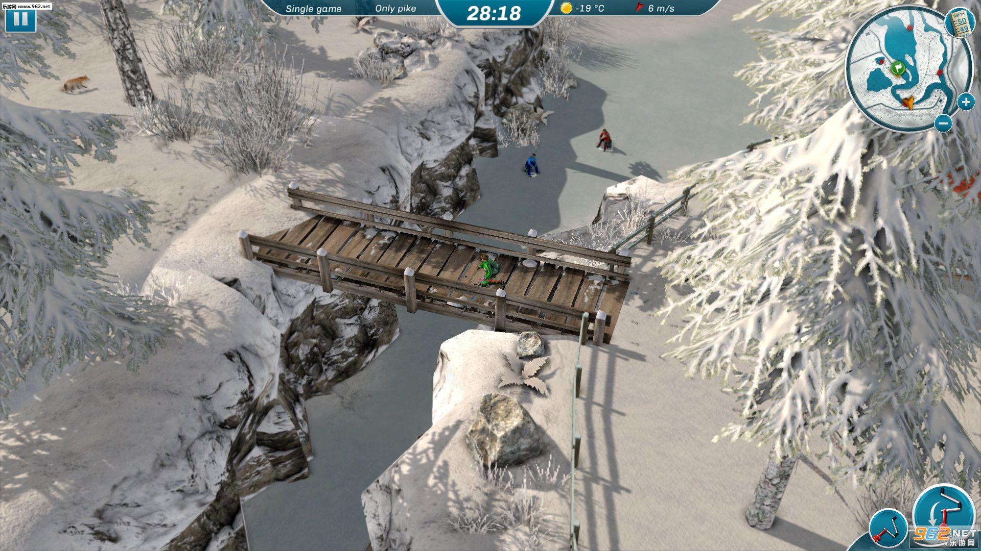 冰湖钓鱼截图2