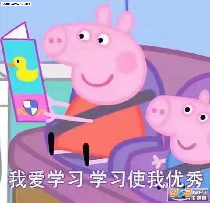 网络一线牵珍惜这段缘小猪佩奇图片带字走动态图像表情暴表情包图片