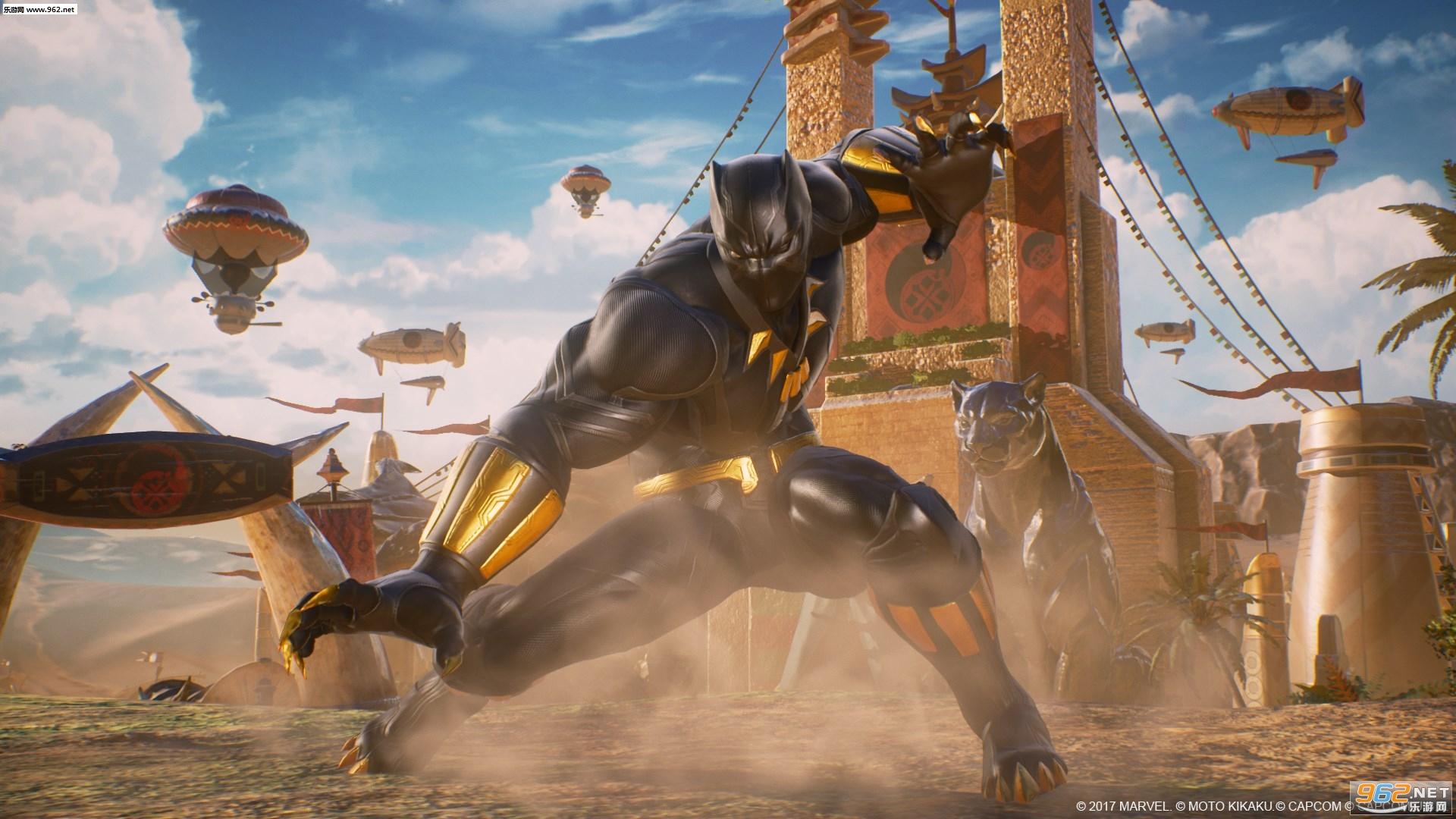 《英雄视频vs卡普空:偷窥》漫威黑豹和西格玛漫画预告话无限《8漫画男》第图片
