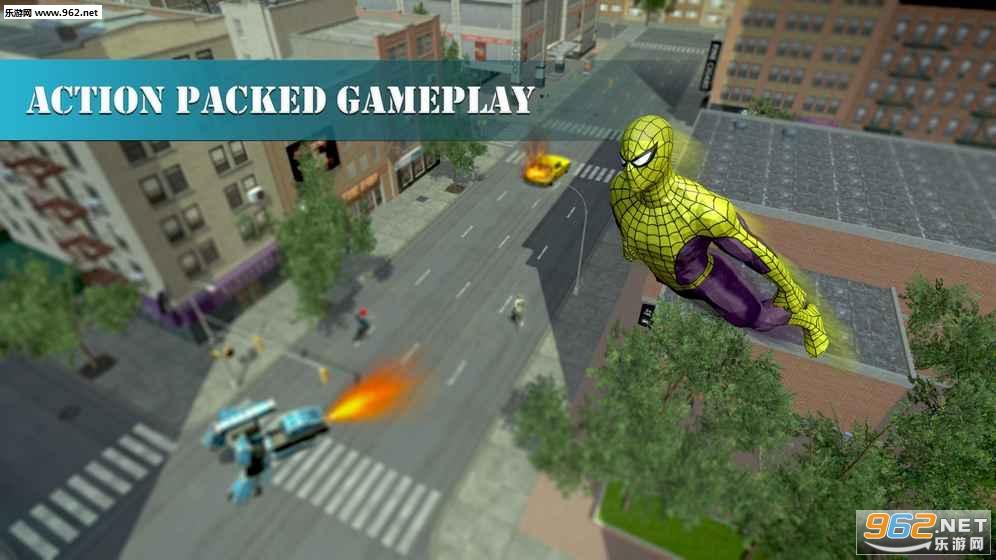 蜘蛛侠城市救援安卓版v1.0.9_截图1