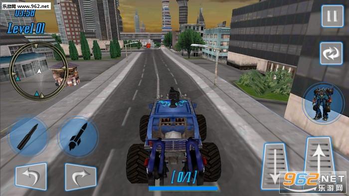 怪兽机器人超级英雄安卓版v1.0_截图1